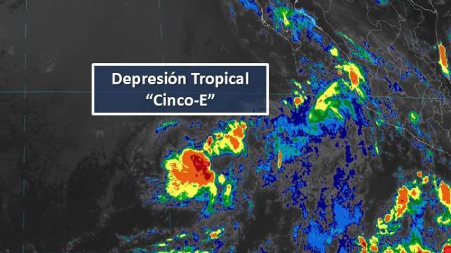 La Paz y Los Cabos, podrían presentar precipitaciones de hasta 10 milímetro de agua