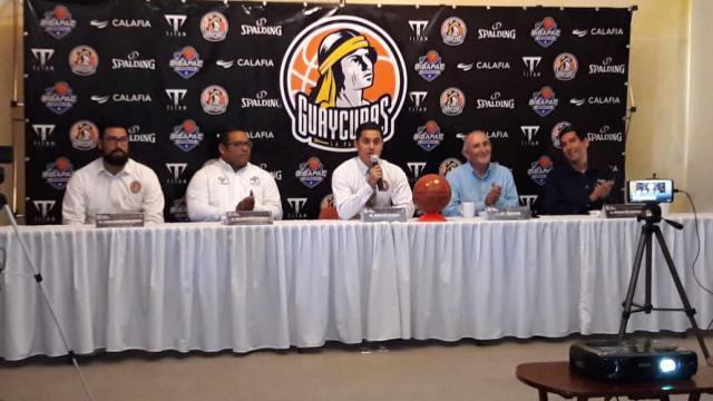 """Equipo de Basquetbol profesional, presentó el """"Proyecto Guaycuras 2019""""."""