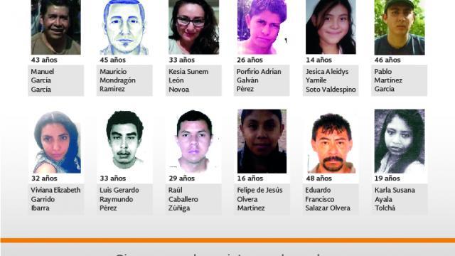 ¿Has Visto a? Programa de Difusión de Personas Desaparecidas
