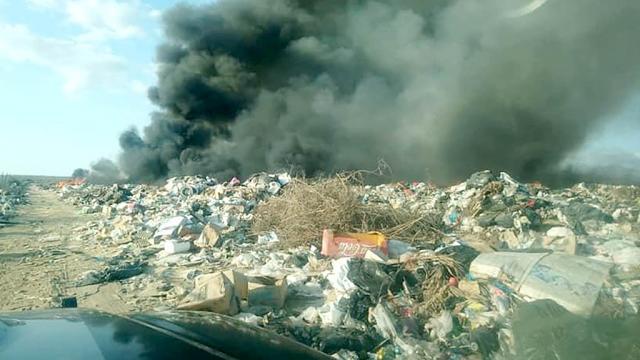 Arde basurero de Pescadero por 7 horas