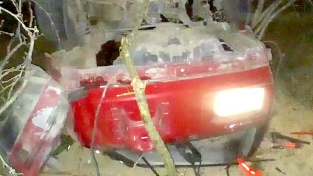Un muerto y dos heridos por volcadura en Los Planes; el carro era robado
