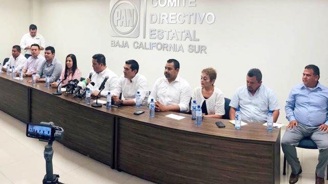 Presidirán hombres los 5 Comités Directivos Municipales del PAN en BCS