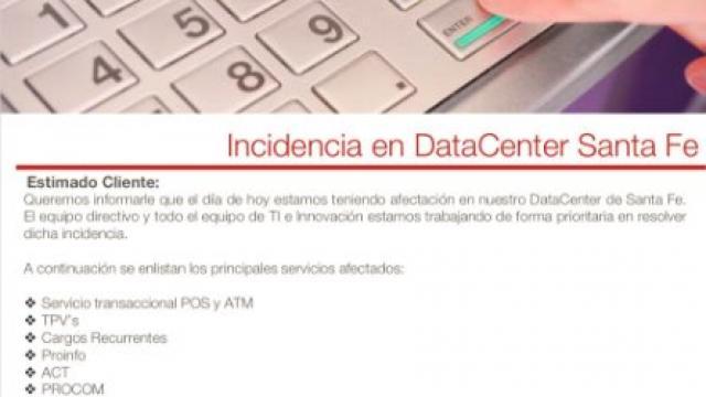 Admite Prosa que afectación en sistema provoca fallas en transacciones