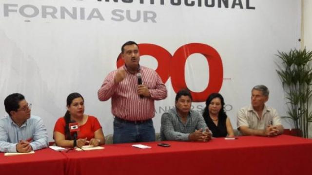 Onésimo Aguilera nuevo delegado del CEN del PRI en BCS