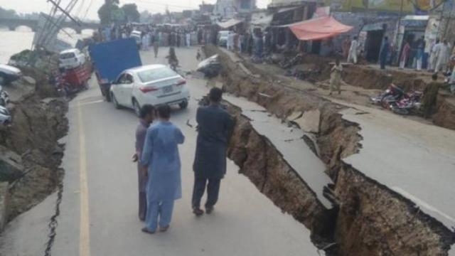 Sismo de intensidad 5.8 en Pakistán deja cuatro muertos y 76 heridos