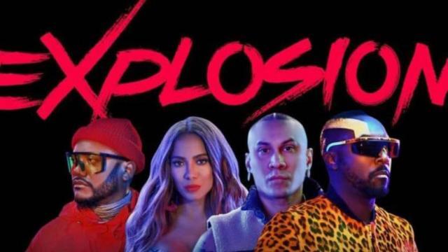"""Black Eyed Peas y Anitta hacen """"Explosión"""""""