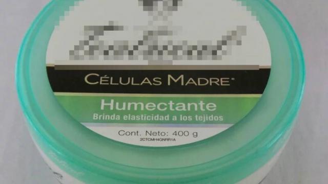Falso que haya productos de belleza con células madre