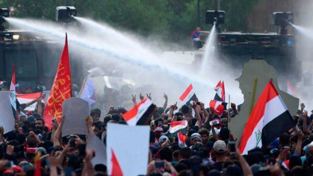 Suman 46 muertos y casi mil 650 heridos por protestas en Irak