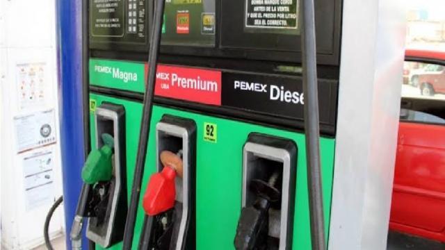 Baja estímulo fiscal para gasolinas y sube para diesel