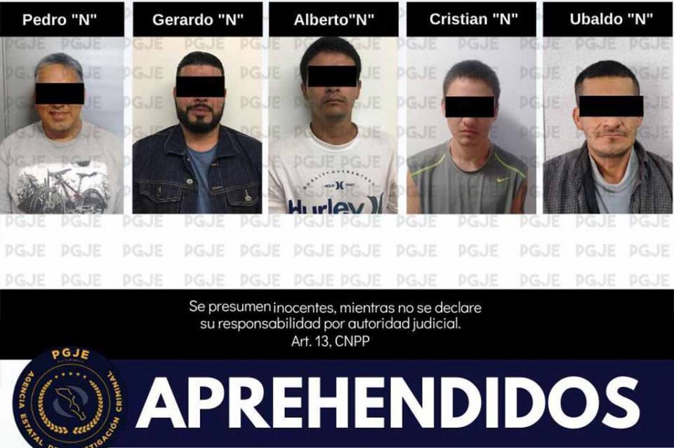 Cumplimenta PGJE órdenes de aprehensión en La Paz y Los Cabos