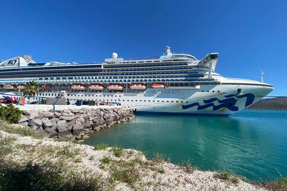 Arribó el primer crucero del 2020 a La Paz