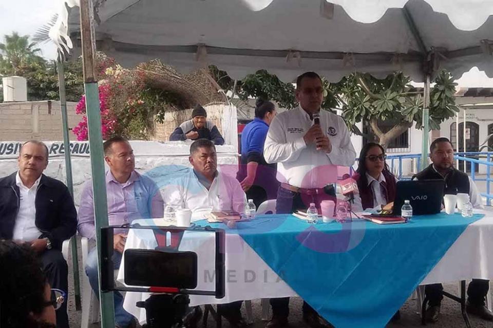 En paro provisional personal de OOMSAPAS de La Paz por incumplimientos patronales