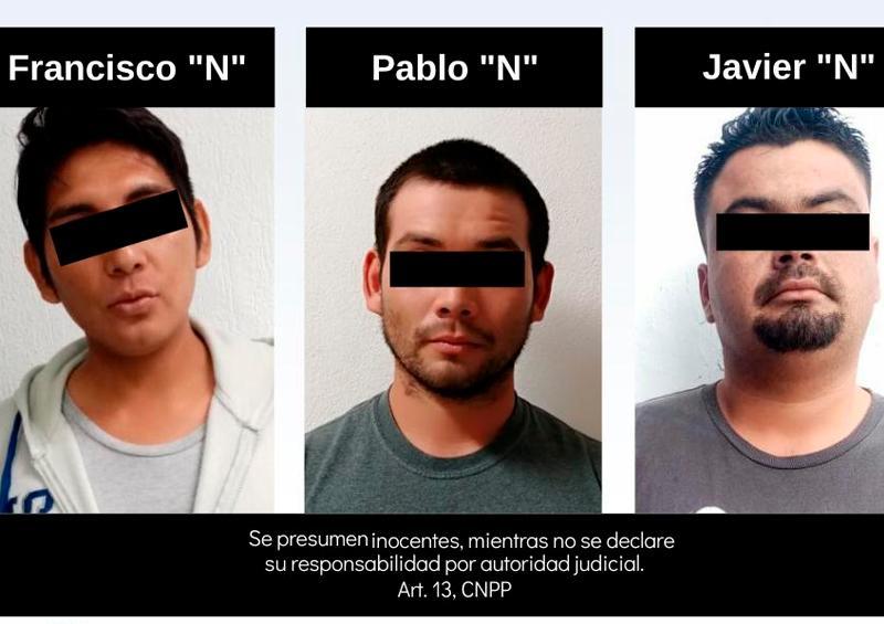 Detienen a 5 personas vinculadas a delitos de robo