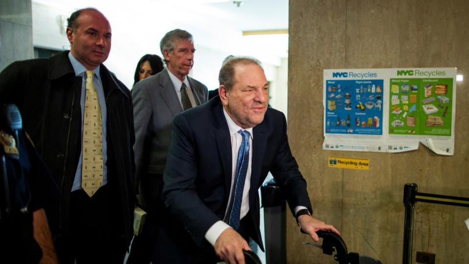 Harvey Weinstein es declarado culpable por acto sexual criminal y violación