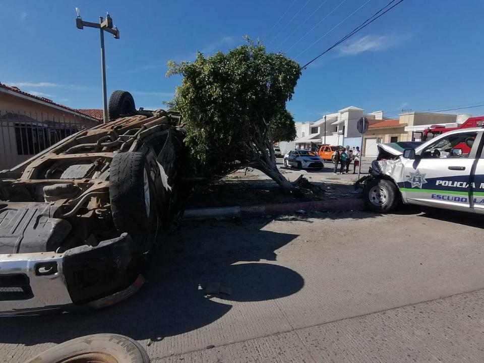 Aparatoso accidente deja 10 lesionados y un herido de gravedad en el cruce Félix Ortega y Veracruz