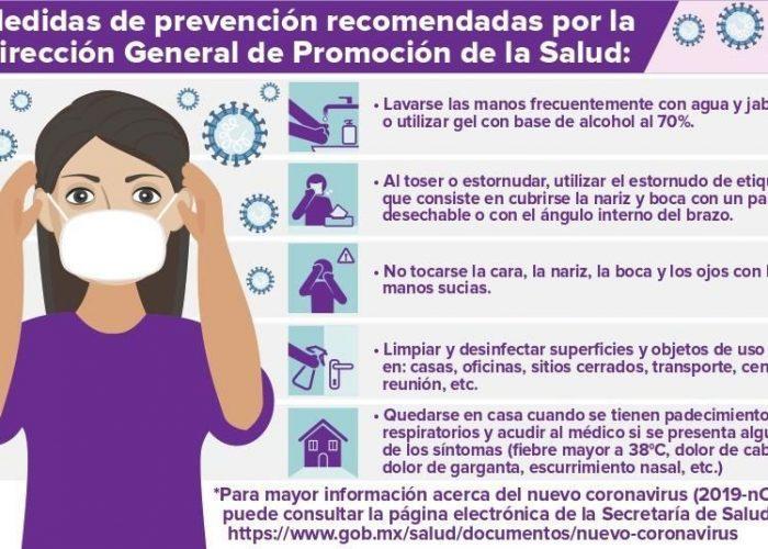 Recomendaciones para evitar contagios de Covid-19