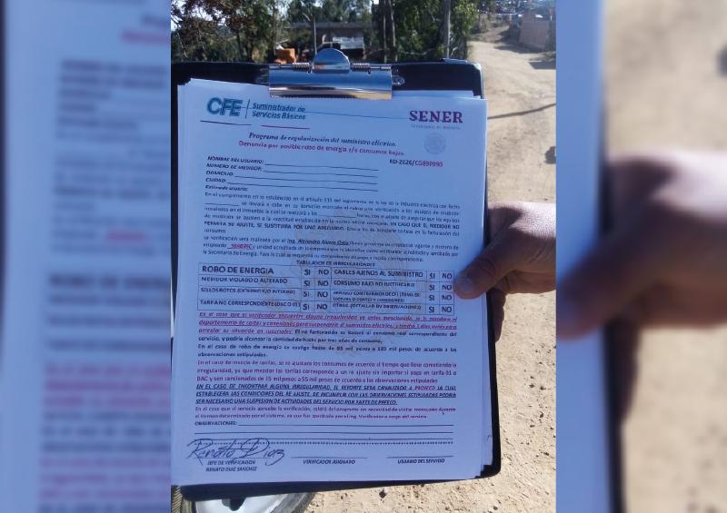 Desmiente CFE programa para ingresar a los hogares: Alerta a la población