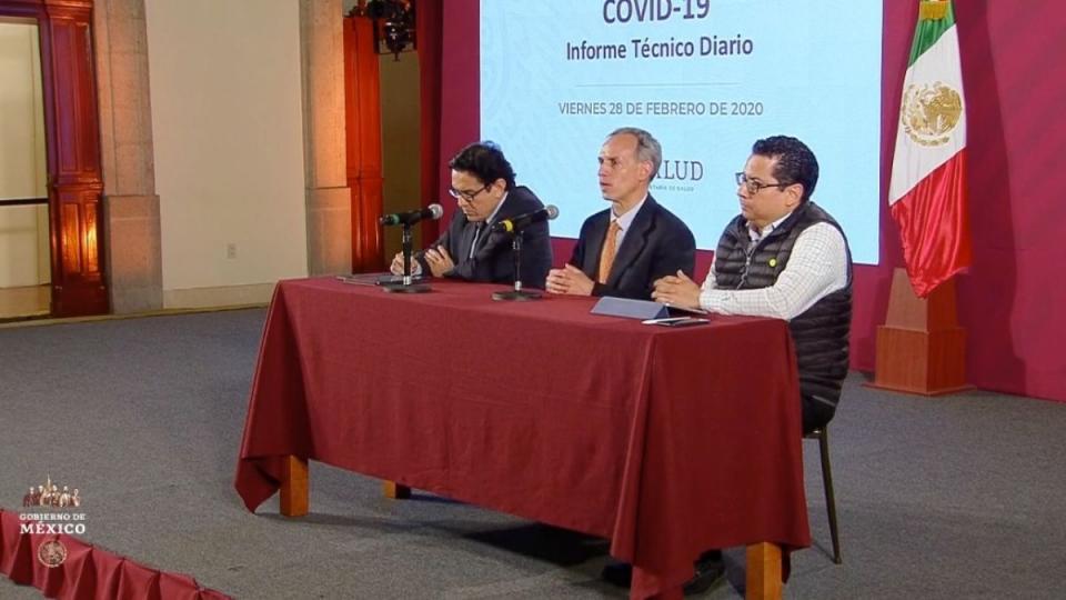 YA SON TRES CASOS DE COVID 19 EN MÉXICO