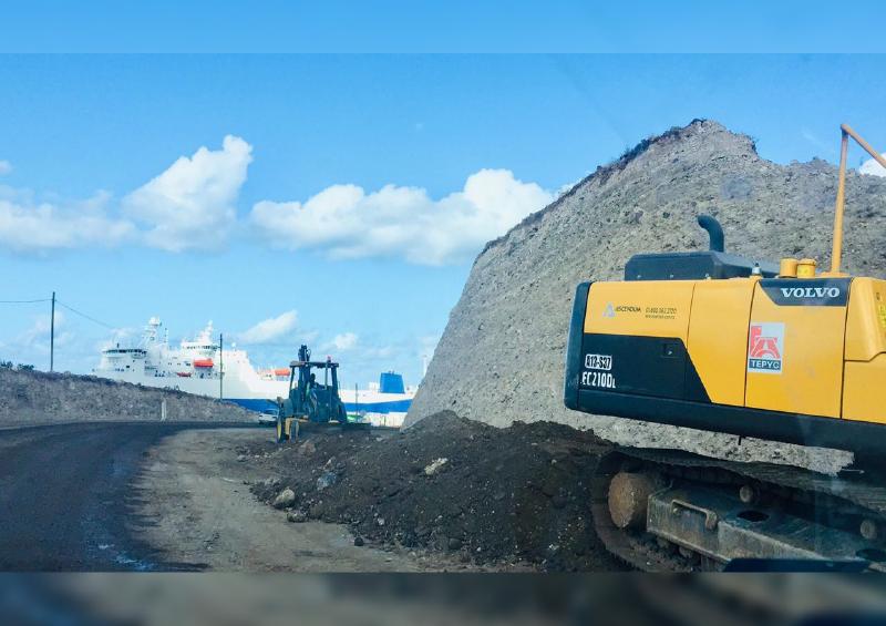 Genera tráfico vehicular ampliación de carretera La Paz- Pichilingue