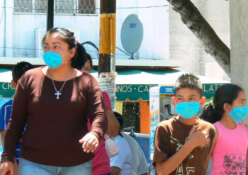 Agotados los cubrebocas en La Paz por compras de pánico