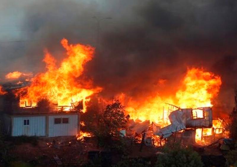 11 mil 500 hectáreas consumidas por incendio en Chile