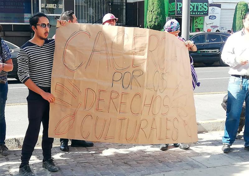 Protestan contra irregularidades en el sector cultural