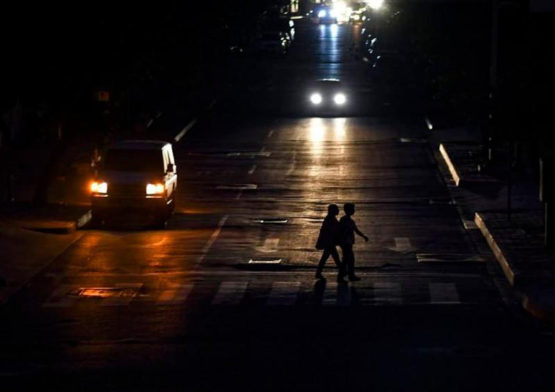 Venezuela sin Luz por fallas en la electricidad