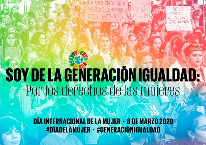 Pide ONU garantizar estado de justicia a las mujeres.