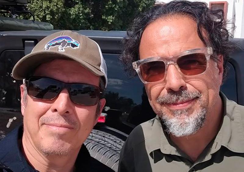 Iñárritu de visita en Los Cabos
