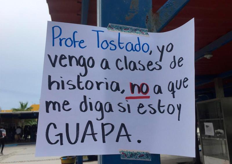 Destapan casos de acoso sexual en Prepa Morelos