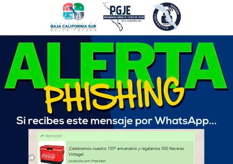 La policía cibernética alerta de nueva forma de robo en BCS