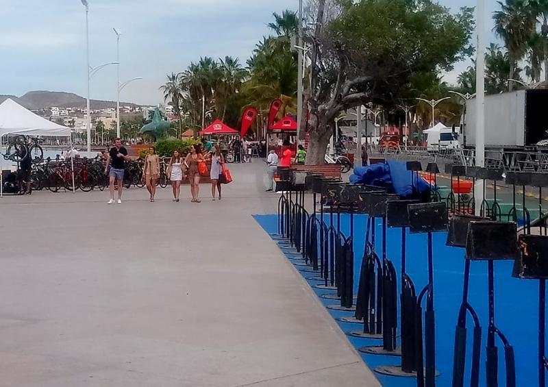 Cierran vialidades por Triatlón La Paz