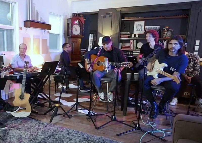Alejandro Sanz y Juanes ofrecen concierto en línea