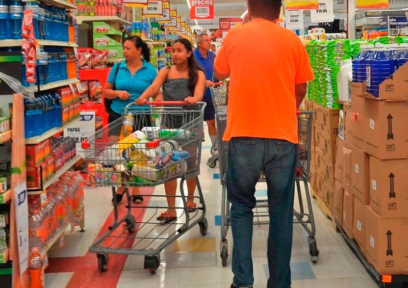 Hasta ahora no se registran compras de pánico.