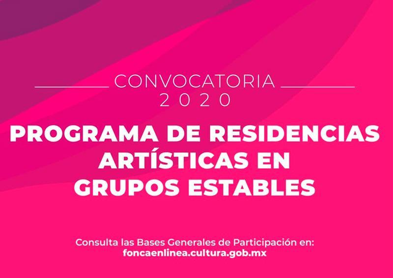 FONCA abre convocatoria 2020