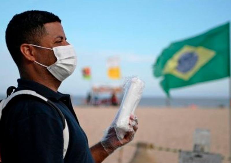 Brasil, con mayor número de contagios por COVID-19 en la región