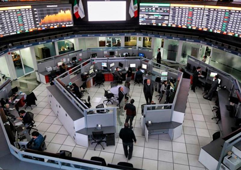 Cierra Bolsa Mexicana con pérdida de 1.10 por ciento
