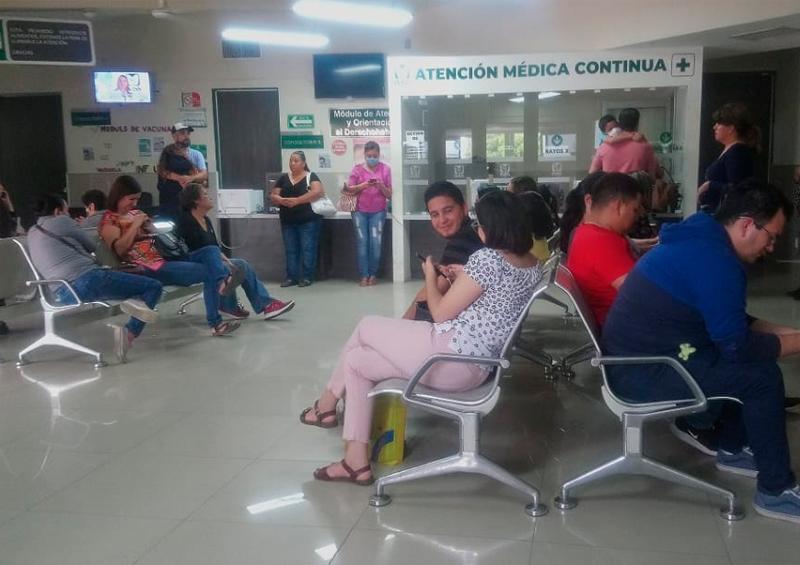 Informa IMSS medidas sanitarias al interior dependencia