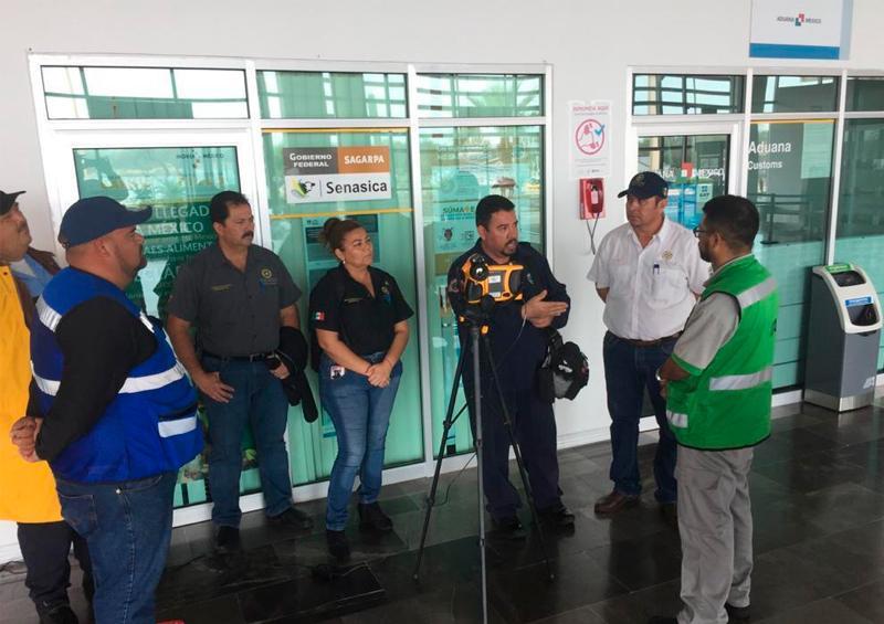 Inicia vigilancia sanitaria en aeropuerto de Loreto