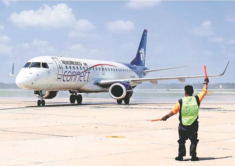 Aeroméxico suspende y reduce temporalmente vuelos