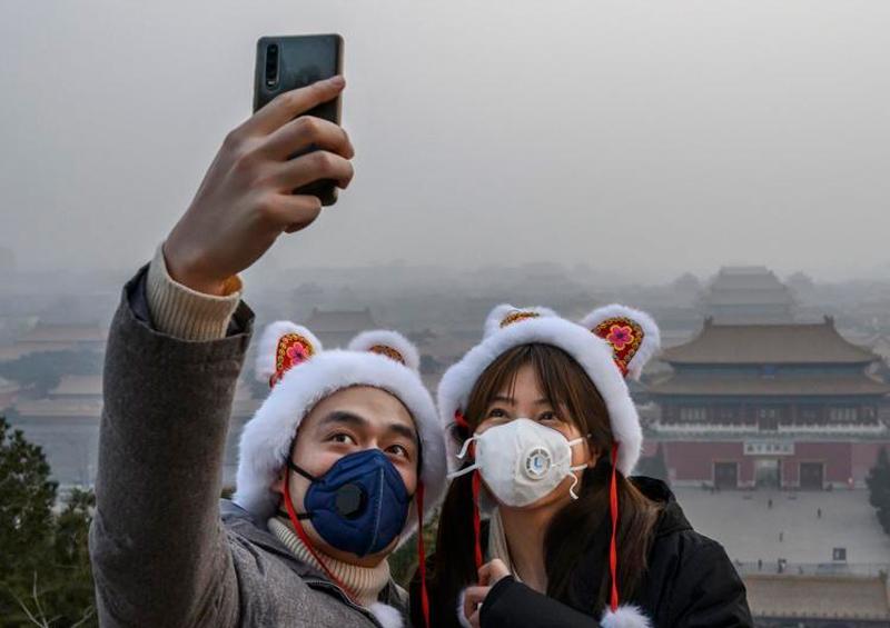 Empresa China lanza novedoso tapabocas electrónico
