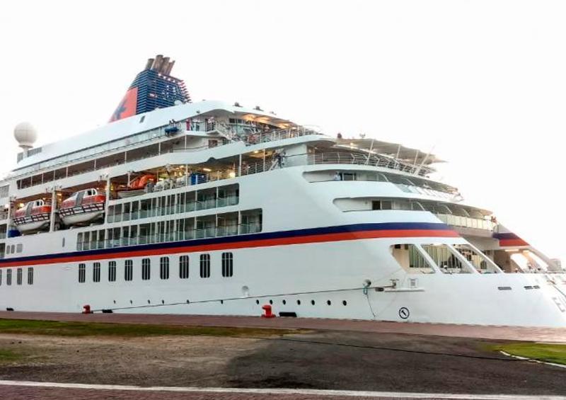 Desembarca crucero en Puerto Vallarta sin casos de Covid-19