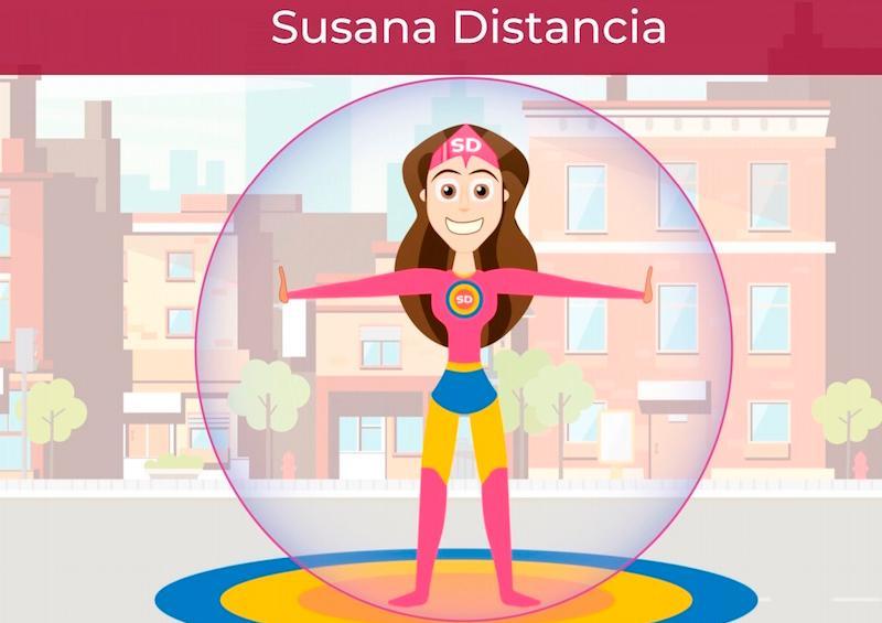 Susana Distancia, la superheroína mexicana que combate coronavirus