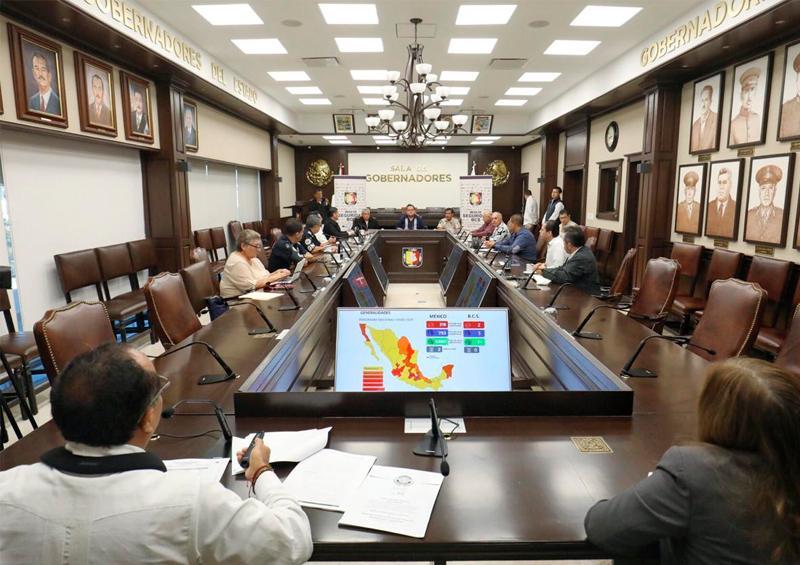 Coordinan esfuerzos Gobierno de BCS y Fuerzas Armadas ante Covid-19