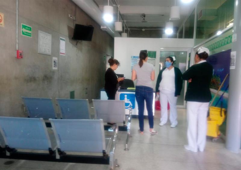 IMSS habilita áreas para posibles casos de coronavirus