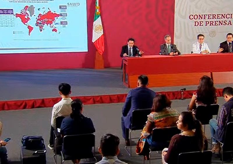 Aumenta a 5 muertos y 405 los casos positivos de Covid-19 en México