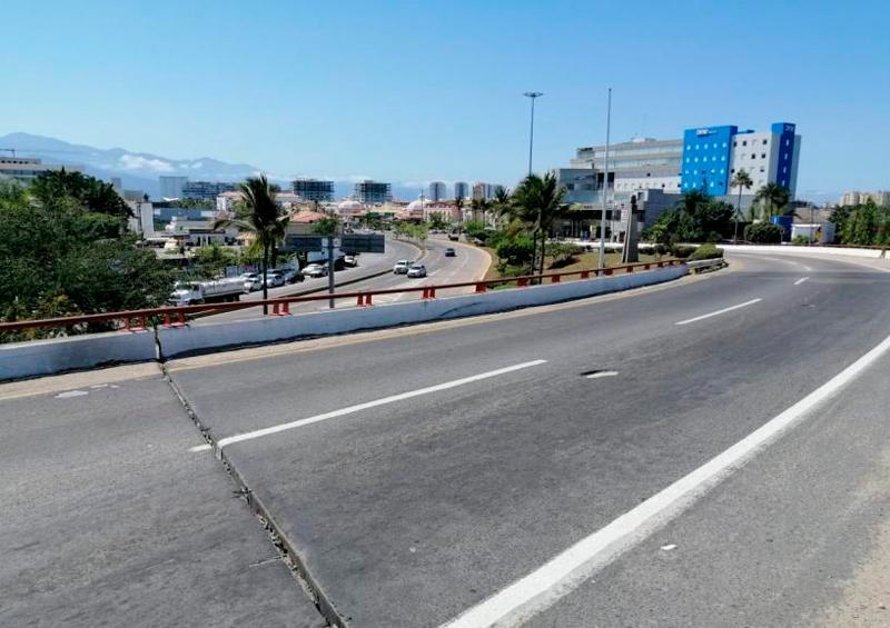 Movilidad en Puerto Vallarta disminuye más del 80%