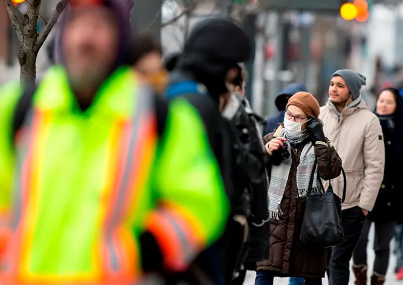Casos de COVID-19 en Canadá se duplican en 3 días