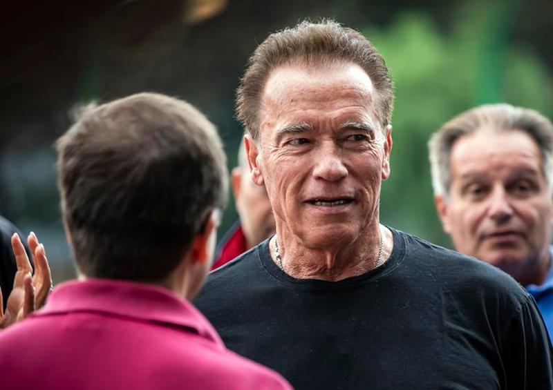 Schwarzenegger dona un millón de dólares para suministros médicos