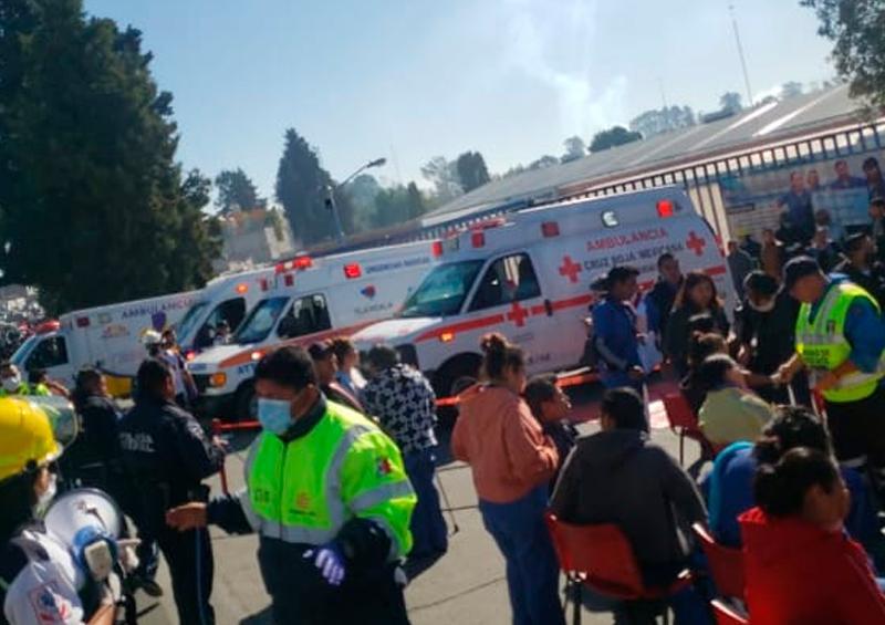 Reportan fuga de amoniaco en fábrica de Tlaxcala
